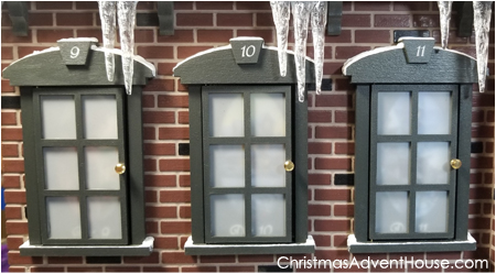 Christmas Advent House.Christmas Advent House Photo Gallery